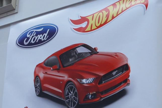 Ford Hot Wheels loop