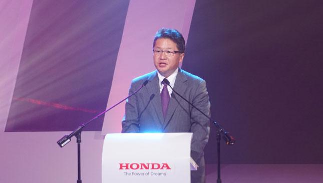 Honda Cars Philippines president Toshio Kuwahara