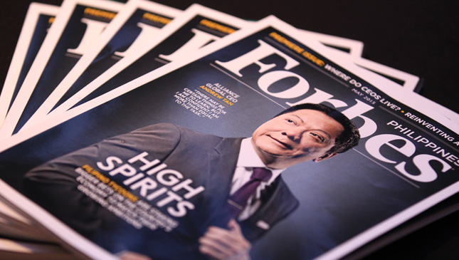 Forbes Philippines launch