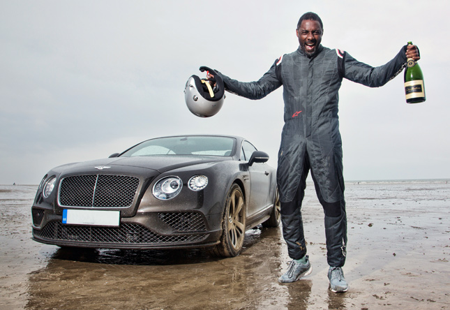 Idris Elba and the Bentley Continental GT Speed