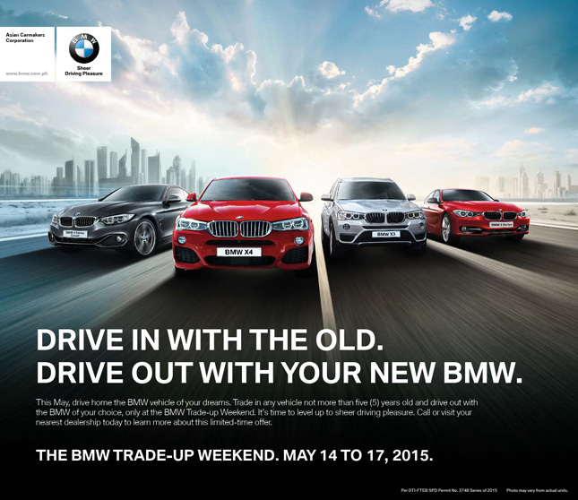 BMW Trade-Up Weekend