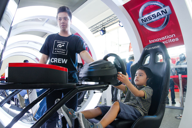 Nissan GT Academy at Trans Sport Show