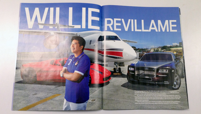 Willie Revillame in YES! magazine