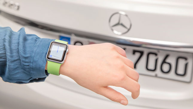 Mercedes-Benz Apple Watch app