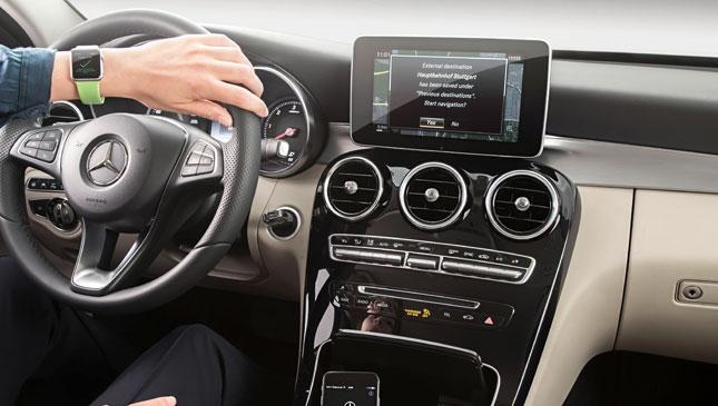 Mercedes-Benz Apple Watch app