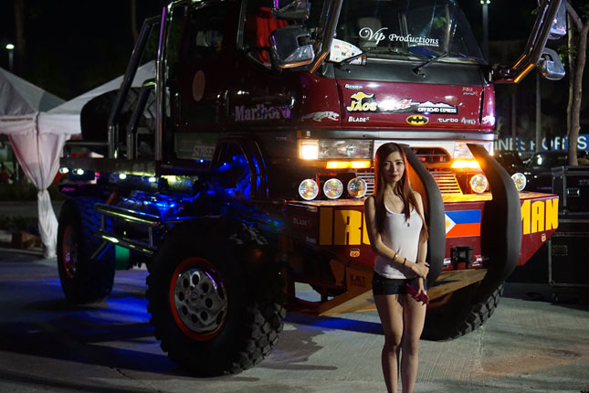 Iron Man truck