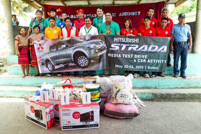 Mitsubishi Philippines donates school supplies