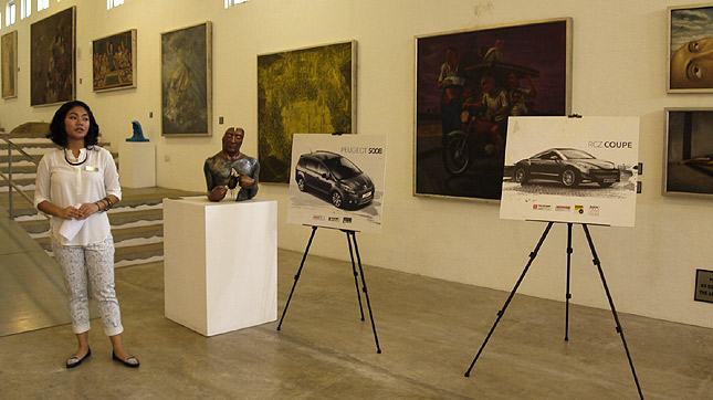 Peugeot: Cars, coffee and art