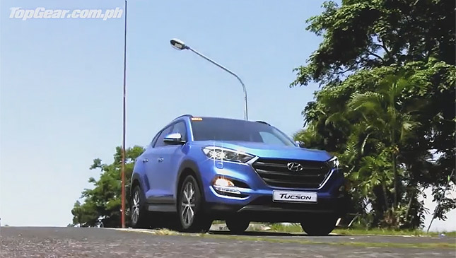 Hyundai Tucson in the Philippines