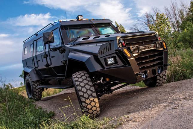 Inkas Sentry armored vehicle