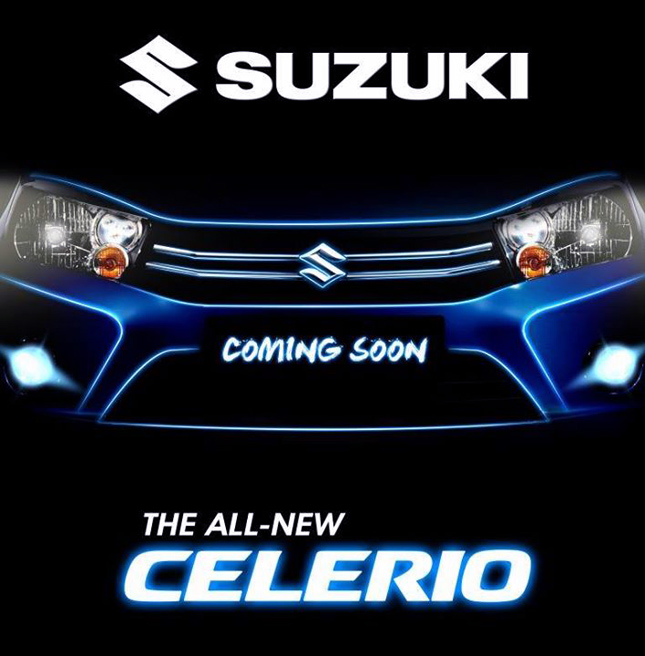 All-new Suzuki Celerio coming soon