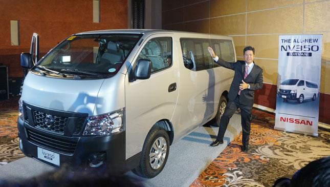 Nissan NV350 Urvan Is Here