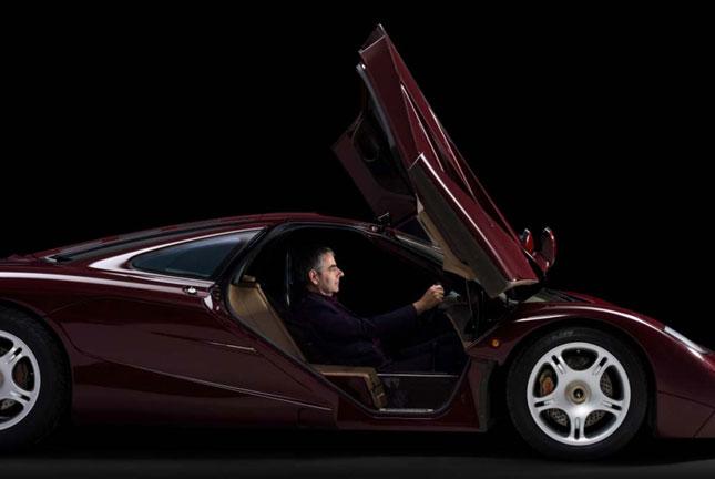 Rowan Atkinson - McLaren F1
