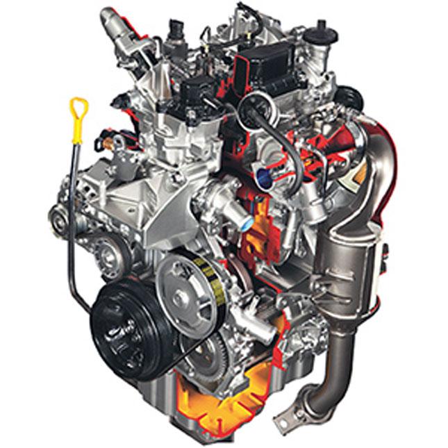 Suzuki Celerio two-cylinder engine