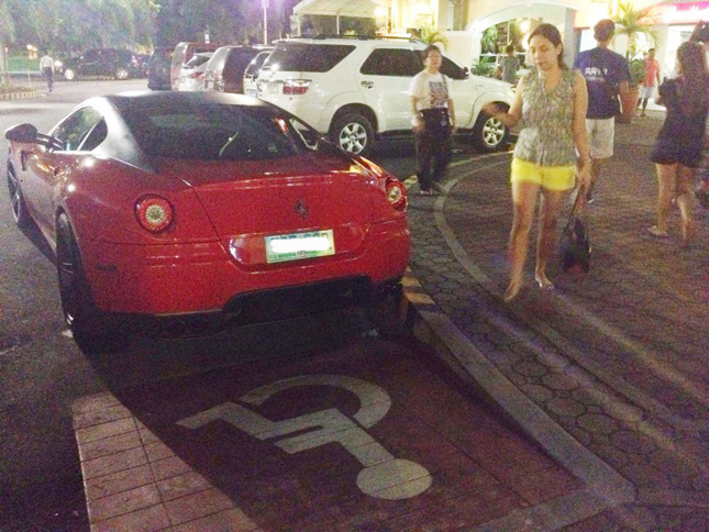 PWD ramps in the Philippines