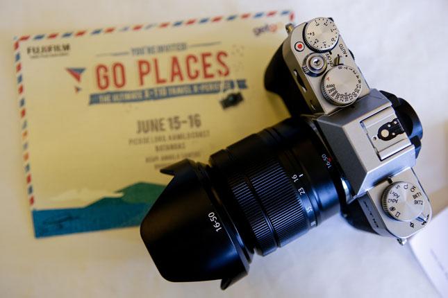 Fujifilm X-T10 event