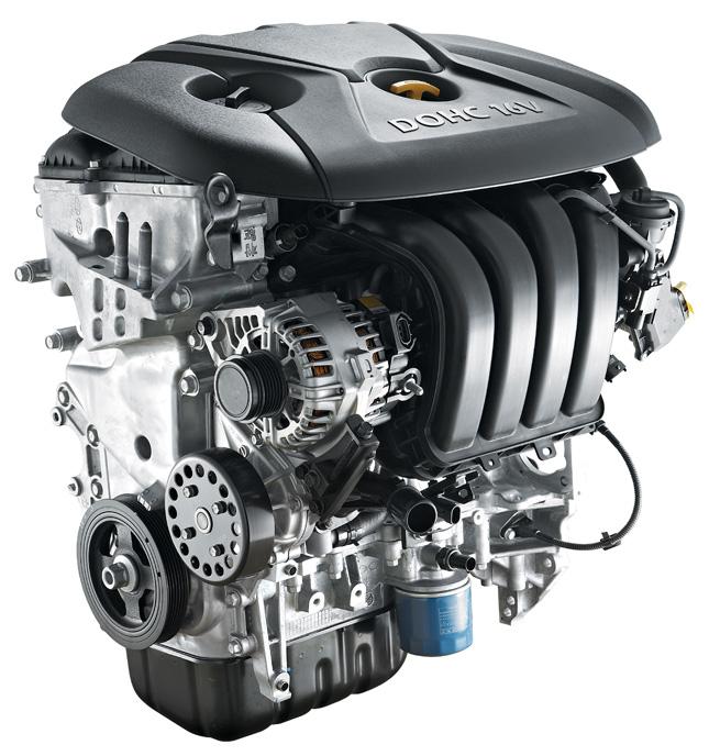 Kia Forte Koup and 5 engine