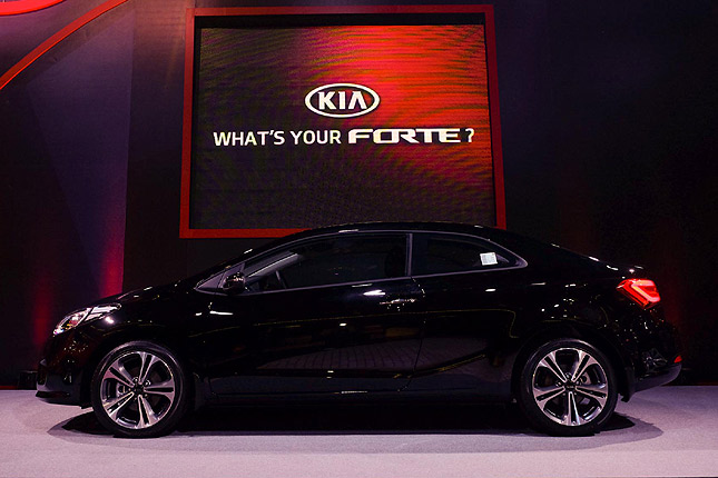 Kia Forte in the Philippines