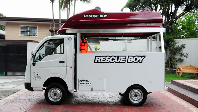 Tata Ace first-responder vehicle