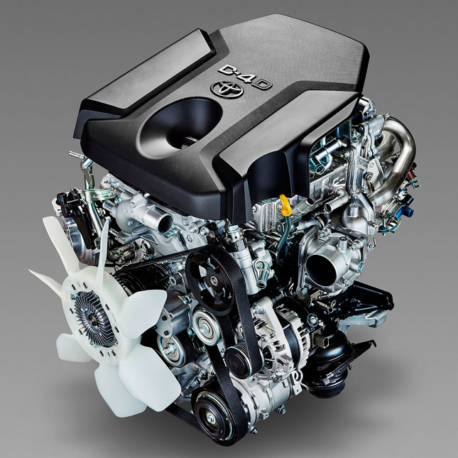 Toyota new IMV engines