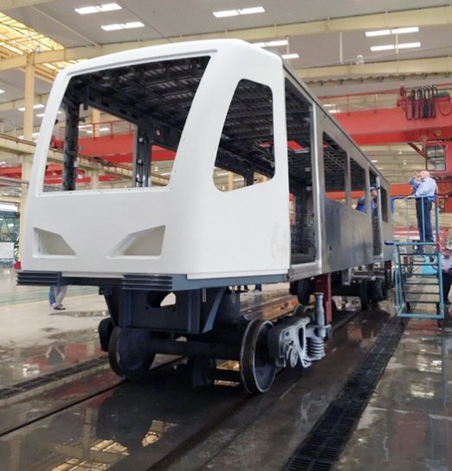 MRT-3 prototype car