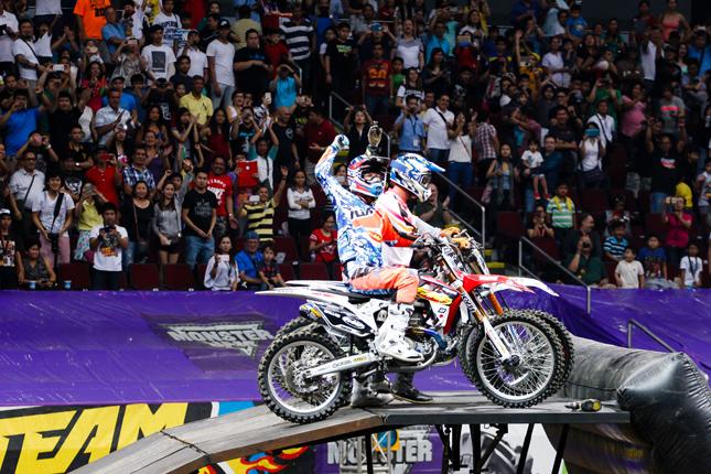 Monster Jam motocross