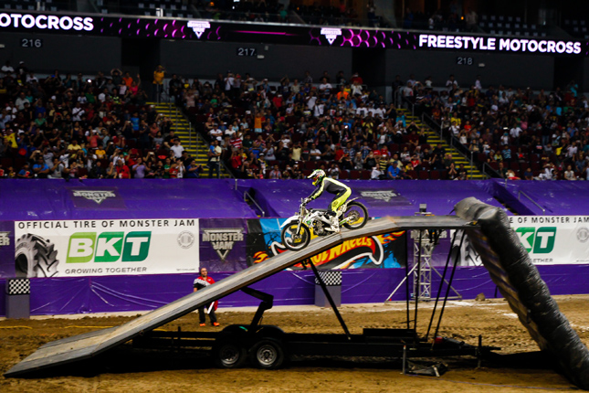 Monster Jam motocross