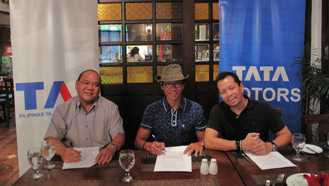 Tata executives together with kuya Kim