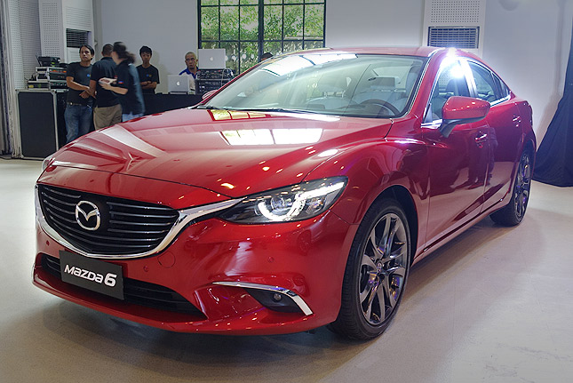 mazda 6 has been improved car news top gear philippines. Black Bedroom Furniture Sets. Home Design Ideas