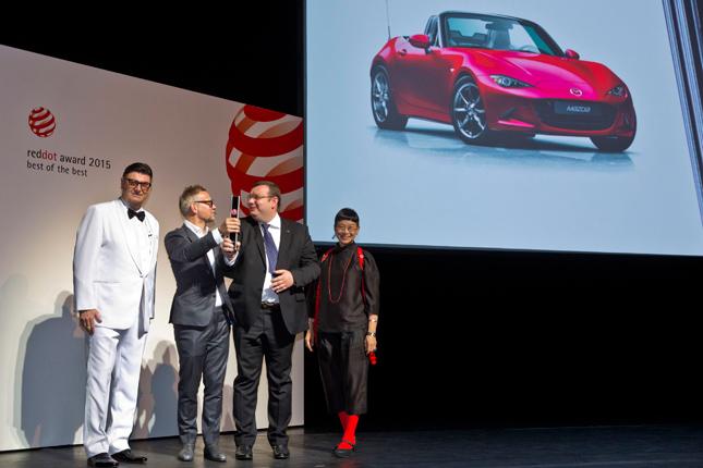 Mazda MX-5 Red Dot