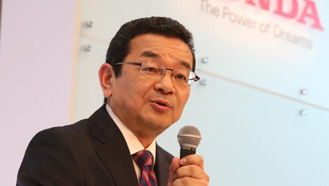 Honda CEO Takahiro Hachigo