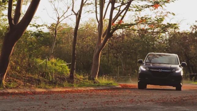 The Honda HRV in action