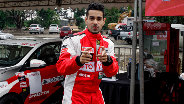 Radio host and Vios Cup driver Sam YG