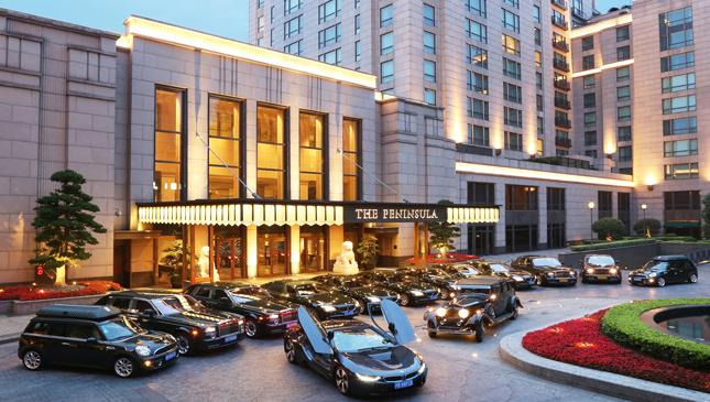 BMW i8 Peninsula Shanghai