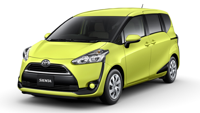 The Toyota Sienta