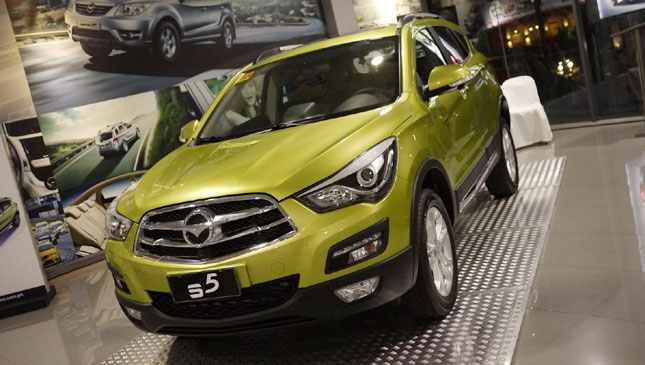 Haima S5 crossover launched in the Philippines