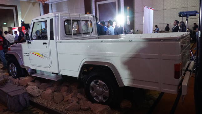 Mahindra launch