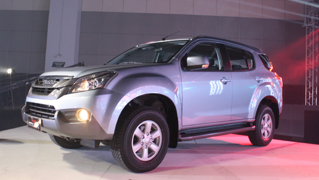 The Isuzu MU-X