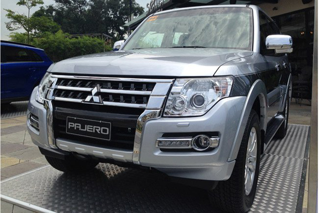 The Mitsubishi Pajero