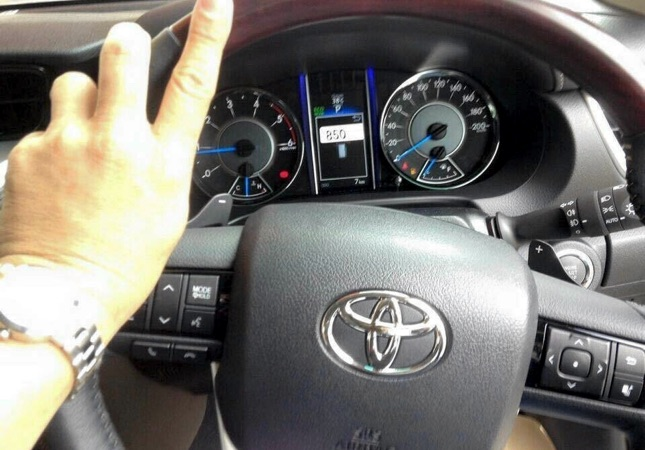 All-new Toyota Fortuner