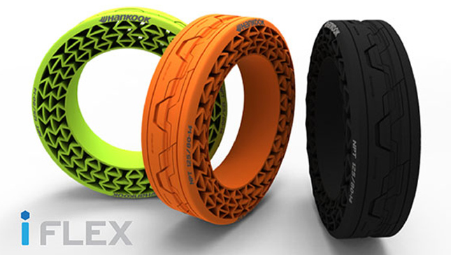 Hankook iFlex airless tire