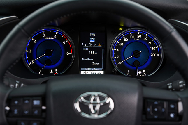 All-new Toyota Hilux interior