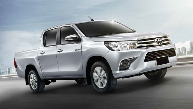 How Much Are The Lower 2016 Toyota Hilux Variants Top