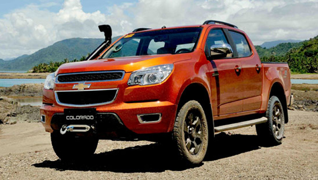 The new Chevy Colorado Tracker Pro
