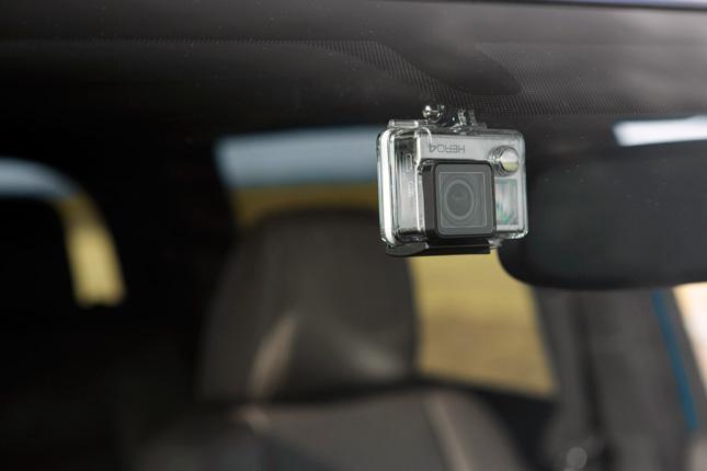 Toyota Tacoma GoPro mount