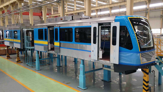 MRT-3 prototype train