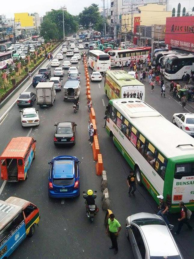 Bus terminal in Pasay City
