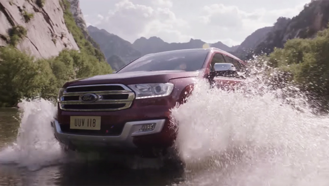 The all-new Ford Everest