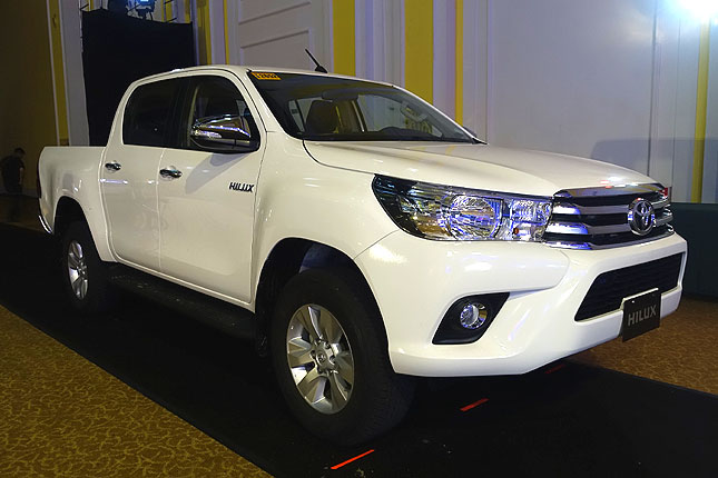 Toyota Hilux specs and features