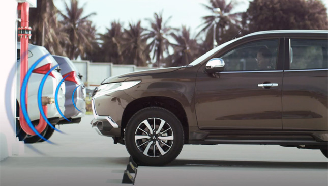 All-new Mitsubishi Montero Sport's Ultrasonic Misacceleration Mitigation system